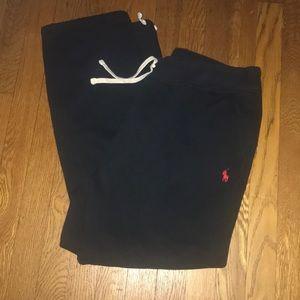 Polo Ralph Lauren navy sweat jogging pants
